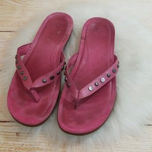 UGG slip on flip flop thong sandals size 9